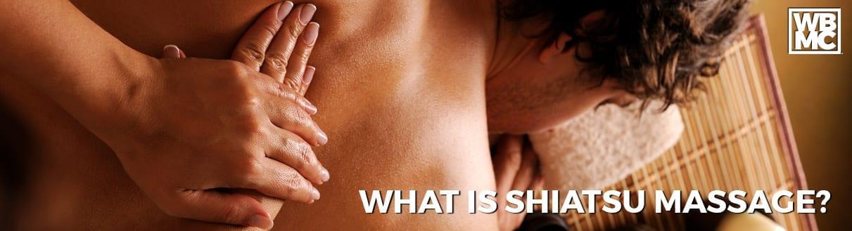 what is shiatsu massage